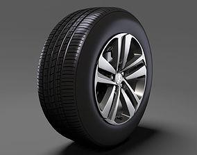 Peugeot Traveller wheel 2017 3D model