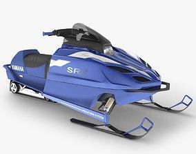 Snowmobile 3D model snowmobile