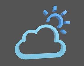 Weather Symbol v7 007 3D asset