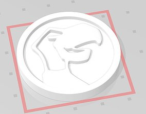 3D printable model Skull Featherdactil coin for Power 4