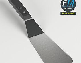 Small kitchen spatula 3D
