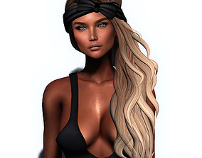 Female rigged realtime 7