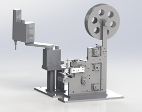 Labelling machine 3D model