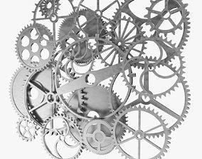 Gear Set machinery 3D model
