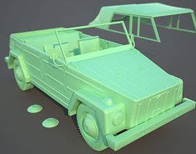 VW Safari or Thing PRINTABLE scale 1 to 10