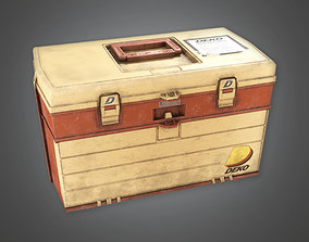 3D model TLS - Tacklebox 02 - PBR Game Ready