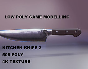 KITCHEN KNIFE 2 3D model