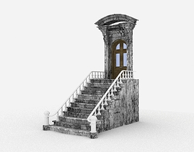 Stair Door 3D model