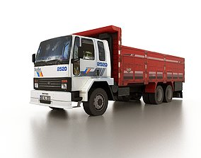 3D model realtime Low poly FORD Cargo 2520 truck