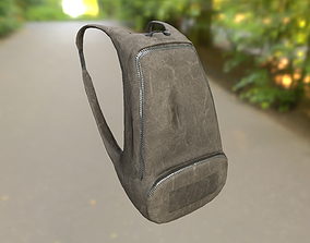 3D asset various-models Backpack LOW-POLY PBR