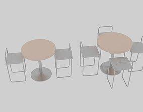 3D model Exhibit Dining