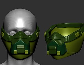 isolated empty helmet high poly sculpt 3d printable