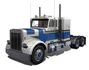 3D model FLC Semi Truck