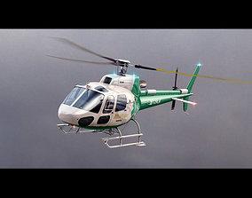 3D model Eurocopter AS 350 MedFlight