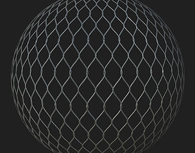 Chain Link Fence 3D model VR / AR ready