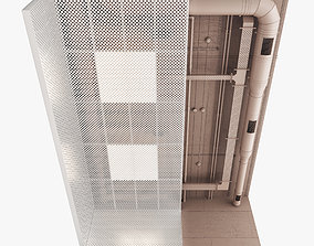 3D model Decorative Ceiling Set 04