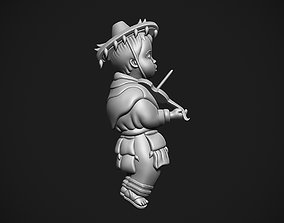 3D print model Mexican boy with violin