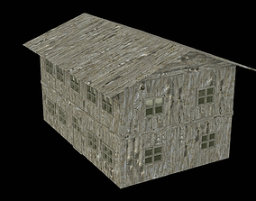 3D Photorealistic shelter complete textures and
