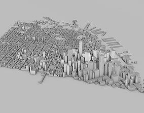 San Francisco City 3D model