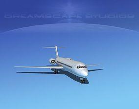 Boeing 717-200 LP SS 3D asset