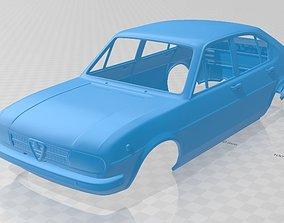 Alfa Romeo Alfasud 1972 Printable Body Car