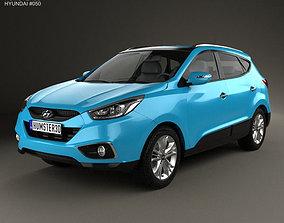 3D model Hyundai Tucson ix35 2013