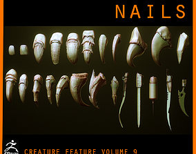 NAILS - 24 Character and Creature 3D model