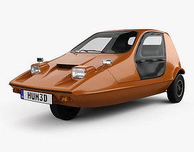 3D model Bond Bug 1970
