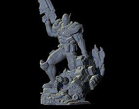 Fan Art - Cable superhero 3D print model