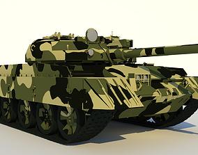 3D T-62 MAIN BATTLE TANK