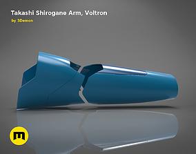 3D printable model Takashi Shirogane Arm from Voltron
