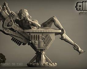 ALLO cyberwoman 3D print model