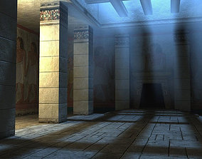 3D asset Egyptian Indoor