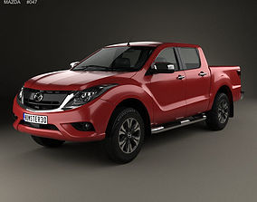 3D model Mazda BT-50 Double Cab 2016 bt50
