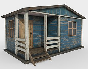 Worn Shed 3D model VR / AR ready