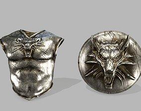 3D asset armor set