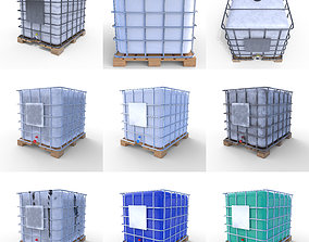 3D model IBC Container Pack