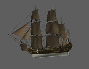 3D print model Pirate ship