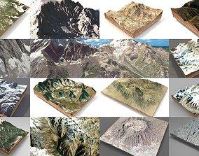 3D model Mountain landscape Collection
