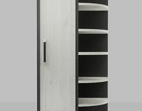 3D asset PBR Corner Cupboard
