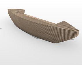 Parametric Reception Table 3D model