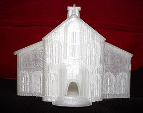3D print model Western Style Church