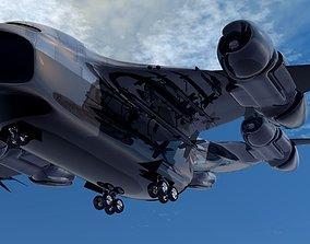 HN 245 Military Dropship 3D