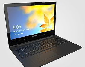 3D model Lenovo laptop