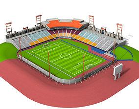 Cashman Field Stadium 3D model