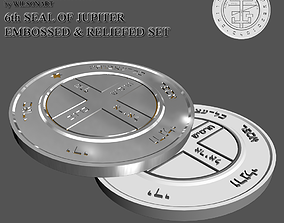 6th Seal of Jupiter 3D print model