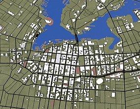 Victoria City of Canada 3D model