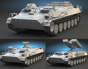 MT-LB High-Poly Collection 3D model