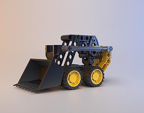 Lego Technic - Mini Digger - 8418 3D model