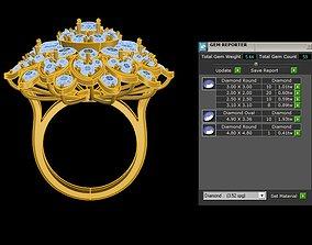 3D women ring 2020 R104